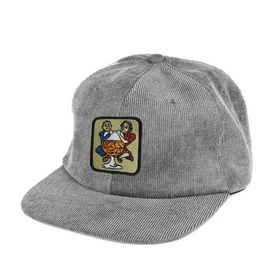PassPort With A Friend 6 Panel Cap Steel Grey