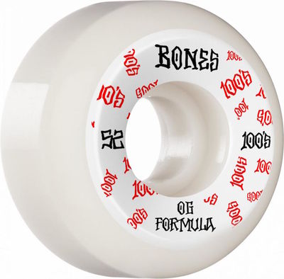 Bones Wheels 100's V5 #3 Sidecut 52mm