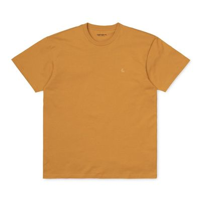 Carhartt WIP S/S Chase T-Shirt Winter Sun/Gold