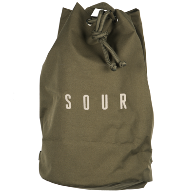 Sour Solution Pat Duffle Bag Military Green