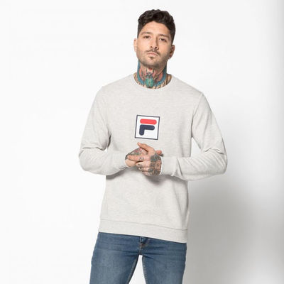 Fila Rian Crew Sweat Light Grey Melange
