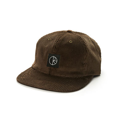 Polar Skate Co. Corduroy Cap Brown