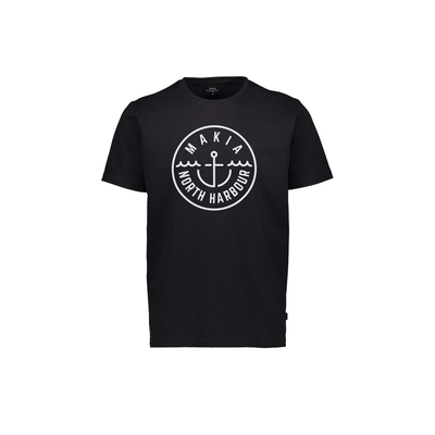 Makia Crown T-Shirt Black