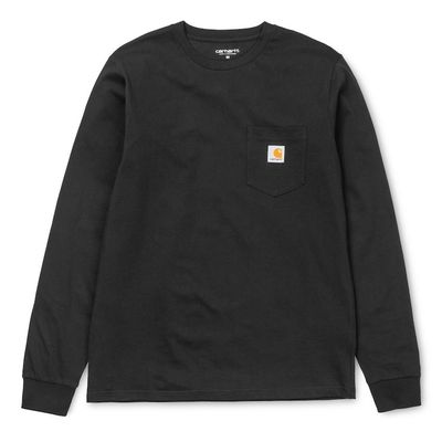 Carhartt WIP L/S Pocket T-Shirt Black