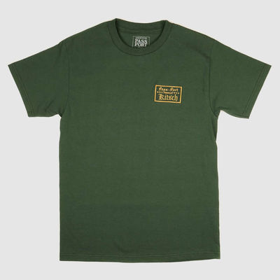PassPort Treasury Patch Tee Forest Green