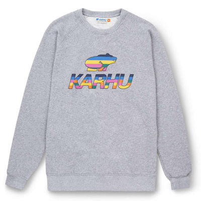 Karhu Team College Sweatshirt Heather Grey/Multi Colour Og