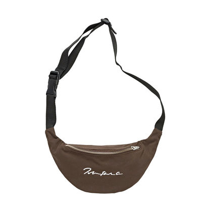 Polar Skate Co. Signature Hip Bag Brown