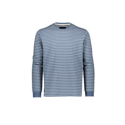 Makia Yacht Long Sleeve Blue / White