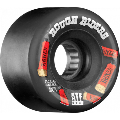 Bones Wheels ATF Rough Riders Shotgun 80a Black 56mm