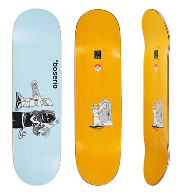"Polar Skate Co. 7,875"" Nick Boserio Knock Knock Light Blue"