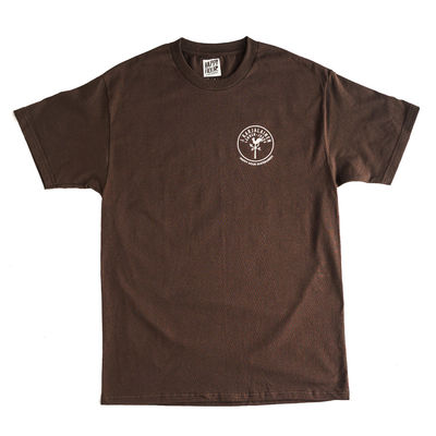 Happy Hour Lännen-Jukka T-Shirt Brown