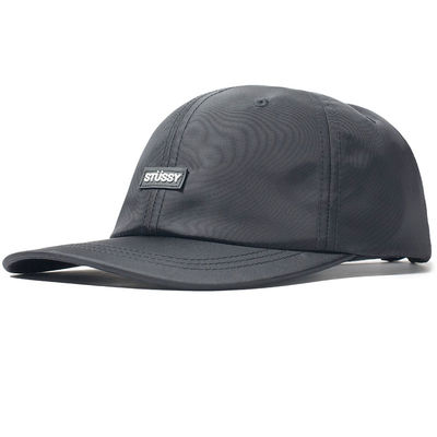 Stüssy Rubber Patch Low Pro Cap Black