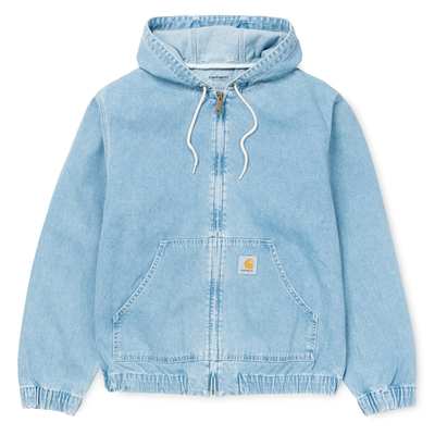 Carhartt WIP Active Jacket Blue Stone Bleached