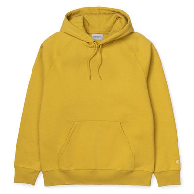 Carhartt WIP Hooded Chase Sweat Colza/Gold