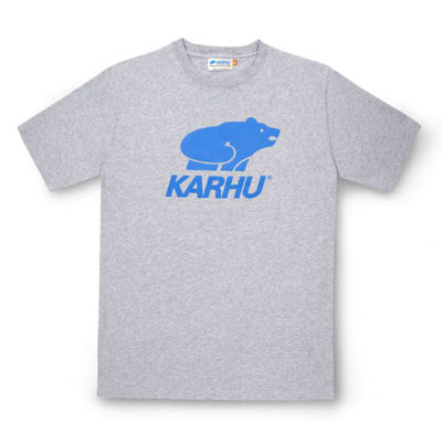 Karhu Basic Logo T-Shirt Heather Grey/Royal