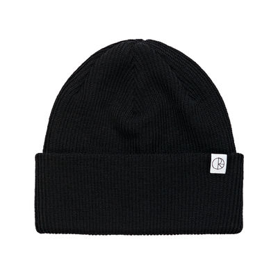 Polar Skate Co. Merino Wool Beanie Black