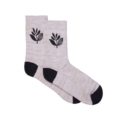 Magenta Plant Sox Heather Grey/Black