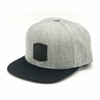 Asenne Surf Co Snapback Gray
