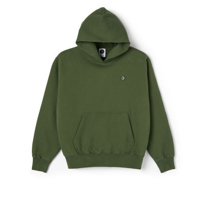 Polar Skate Co. Patch Hoodie Hunter Green