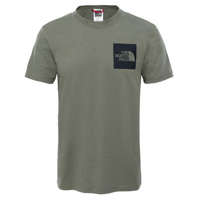 The North Face S/S Fine Tee Deep Lichen Green