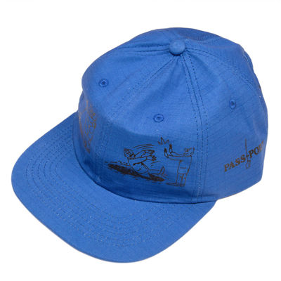 PassPort W.C.W.B.F 6 Panel Cap Royal