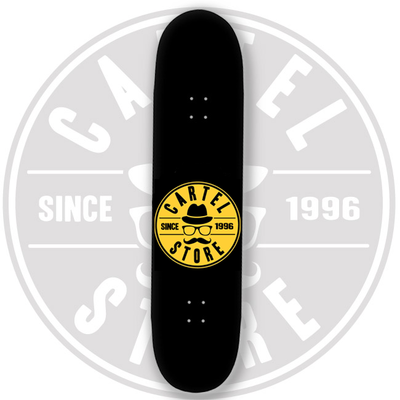 "Cartel Old Fart 8"" Black/Yellow High"