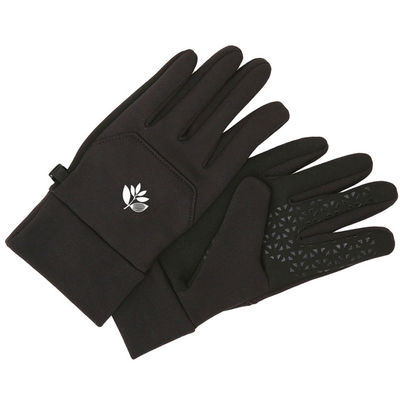Magenta Gloves Black