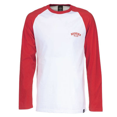 Dickies Baseball LS Fiery Red