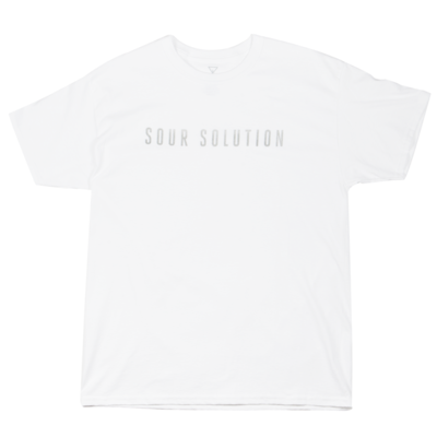 Sour Solution T-Shirt White