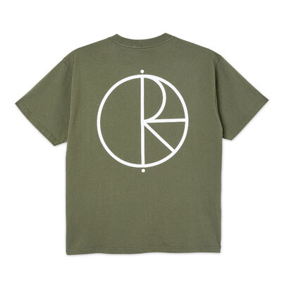 Polar Skate Co. Stroke Logo Tee Uniform Green