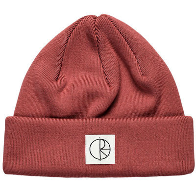 Polar Skate Co. Double Fold Beanie Brick Red