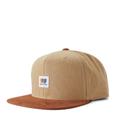 Brixton Alton MP Snap Brown / Khaki