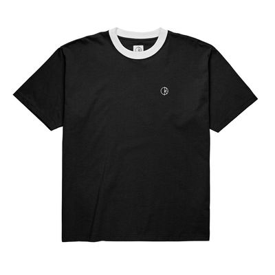 Polar Skate Co. Ringer Tee Black/White