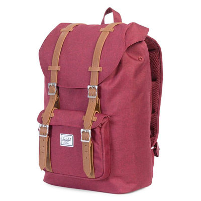 Herschel Little America Mid Volume Winetasting Crosshatch