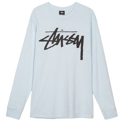 Stüssy Old Stock LS Tee Light Blue