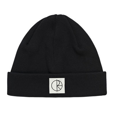 Polar Skate Co. Cotton Beanie Black