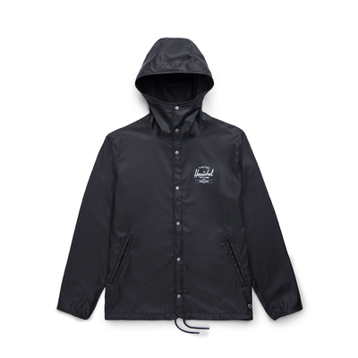 Herschel Forecast Hooded Coach Black/ White