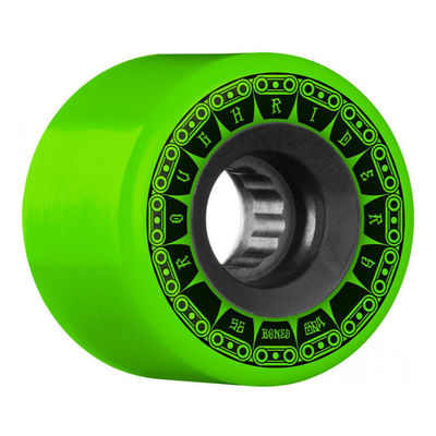 Bones Wheels ATF Rough Riders Tank 80a Green 56mm