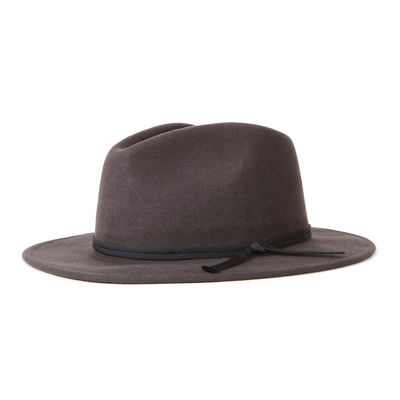 Brixton Coleman Fedora Washed Black