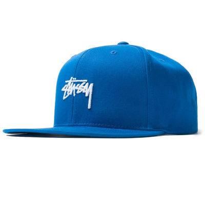 Stüssy Sp19 Stock Cap Royal