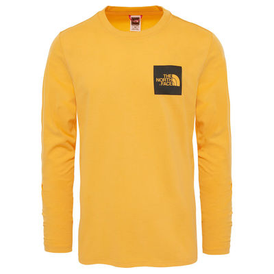 The North Face L/S Fine Tee Zinnia Orange