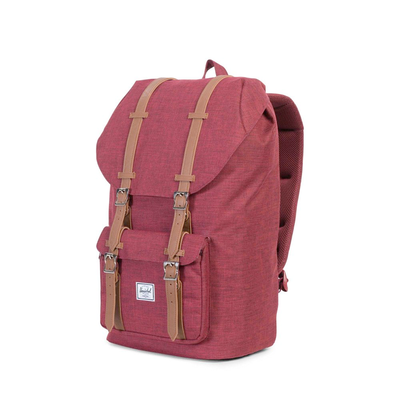 Herschel Little America Winetasting Crosshatch/Tan