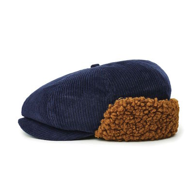 Brixton Brood Earflap Washed Navy