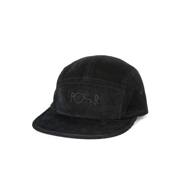 Polar Skate Co. Cord Speed Cap Fall Black