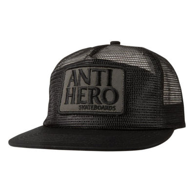 Antihero Snapback Hat Reserve Patch Mesh/Mesh Black