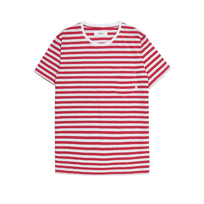Makia Verkstad T-Shirt Red/White