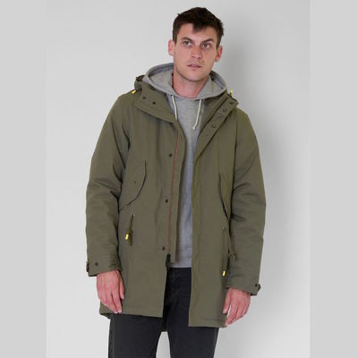 Levi's Skateboarding Skate Fish Tail Parka Olive Night