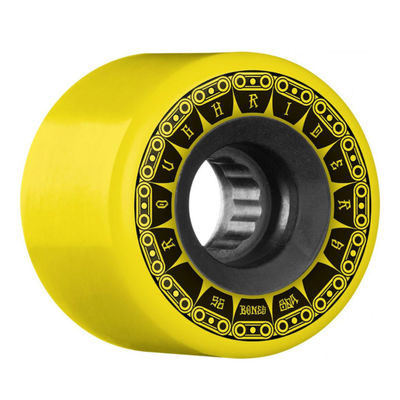 Bones Wheels ATF Rough Riders Tank 80a Yellow 56mm