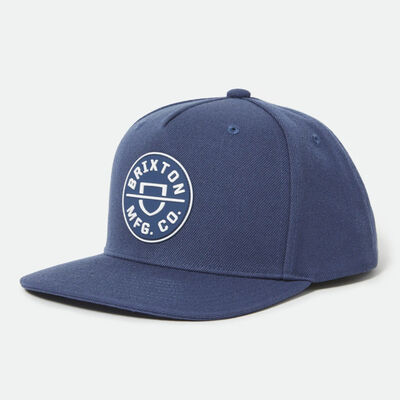 Brixton Crest C MP Snapback Joe Blue O/S