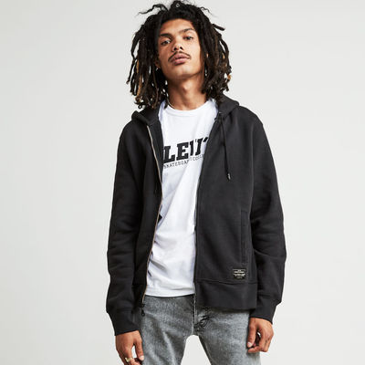 Levi's Skateboarding Full Zip Hoodie Jet Black